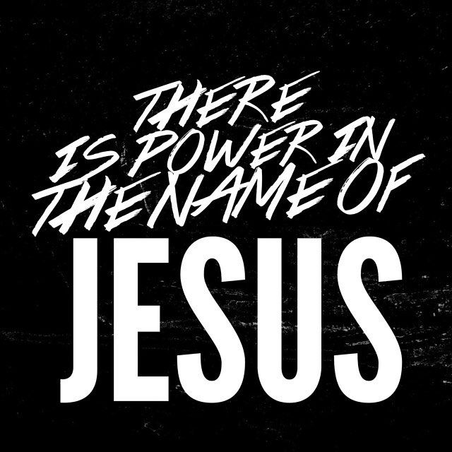 There is power in the name of Jesus. To break every chain break every chain break every chain. - @jesusculture by saltrecords