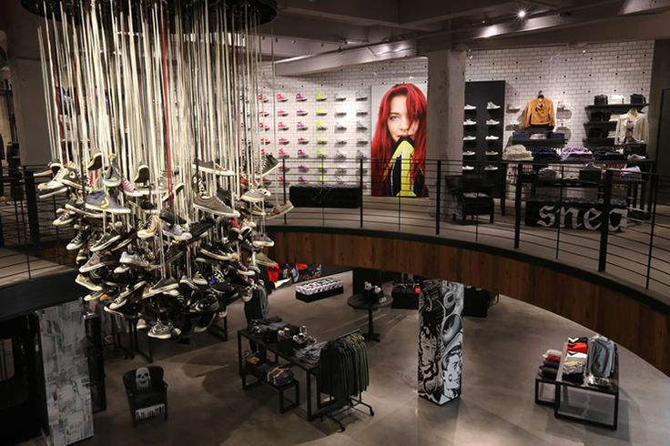 #Converse opens their largest store in the world, an 8,200 sq. ft behemoth in San Francisco's Union Square. The shop will feature the full Converse lineup with dedicated areas for Cons, Jack Purcell, the All Star, Premium footwear lines (First String), and a Customization Bar that'll let you pick from a variety of Converse curated designs or even screen print graphics of your very own.