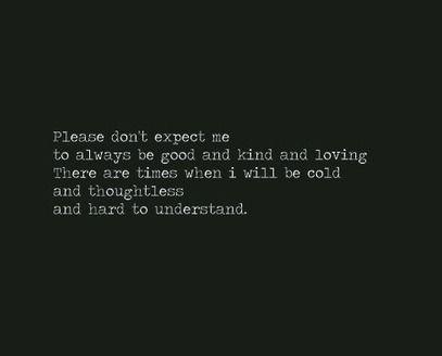 Fuck Bipolar — cold