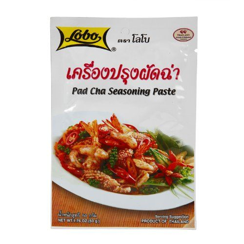 Lobo Brand Thai Pad Cha Seasoning Paste 50g Thai Food -- To view further for this item, visit the image link.