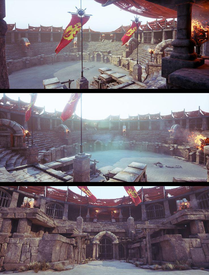Gladiator's Arena by Nikola Damjanov