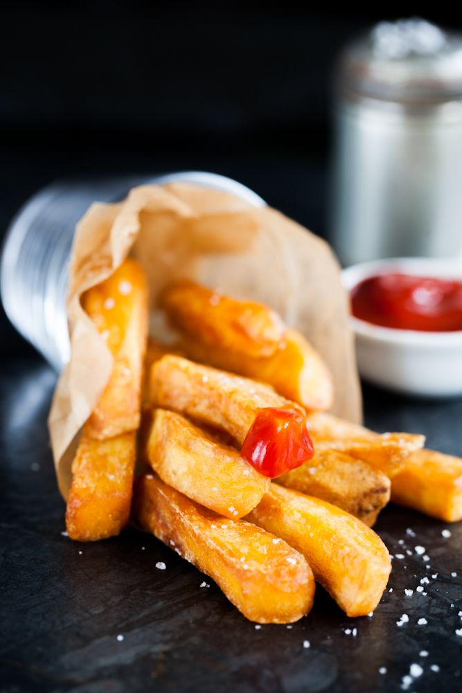 Tripple cooked Heston Blumenthal fries
