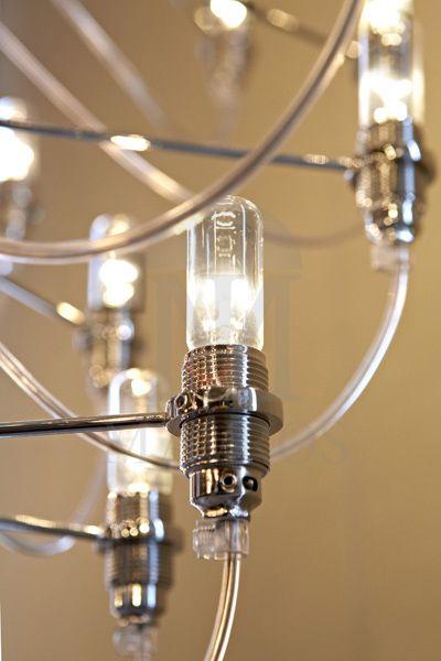 Modern 24-bulb chandelier | AKTINES - MAVROS LIGHTING
