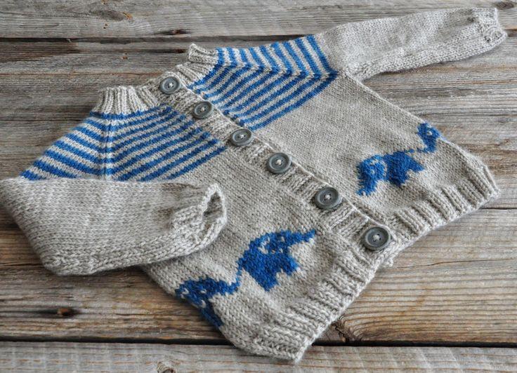 Hekta på strikk: Bellyphants
