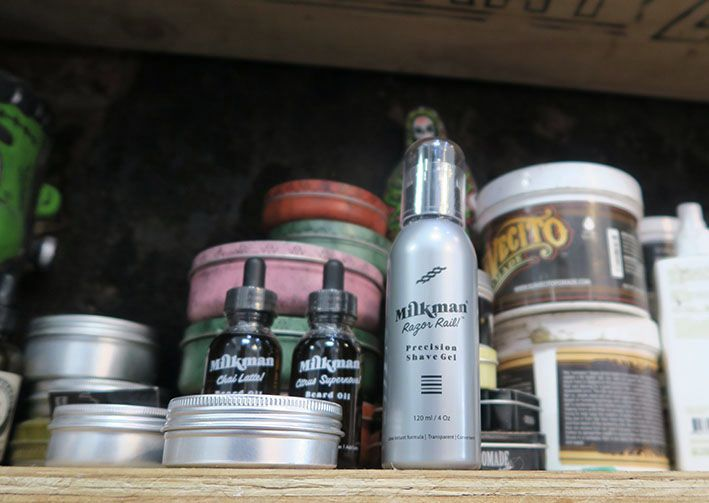 Have you got Milkman Grooming Co product at your barbershop? For the best gear available to keep guys fresh between the ears visit www.milkmanaustralia.com #beard #barber #barberstyle #milkman