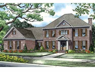 Floor Plans AFLFPW12669 - 2 Story Colonial Home with 5 Bedrooms, 3 Bathrooms and 3,978 total Square Feet  Hobby room off The laundry