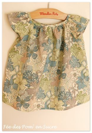blouse petite fille