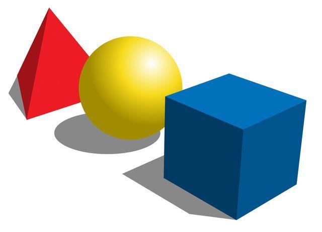Qué son los cuerpos geométricos y cómo se clasifican. Definición, tipos y nombres de los poliedros regulares e irregulares y cuerpos redondos básicos.