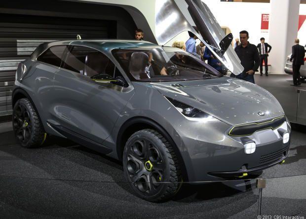Kia Niro urban crossover concept - CNET Reviews via @CNET