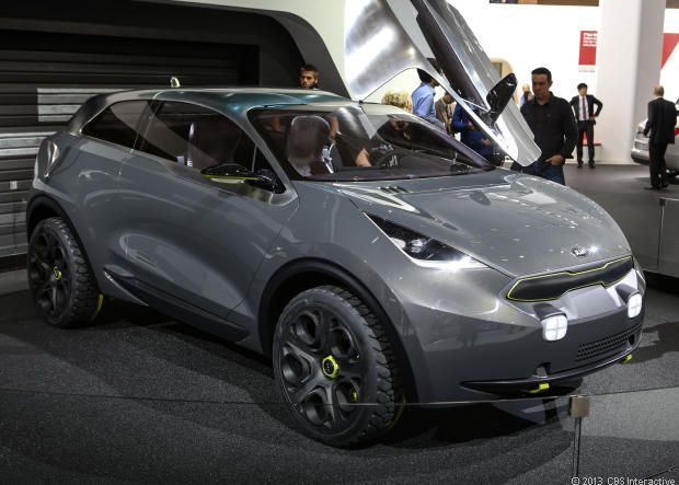 Kia Niro urban crossover concept - CNET Reviews via @CNET
