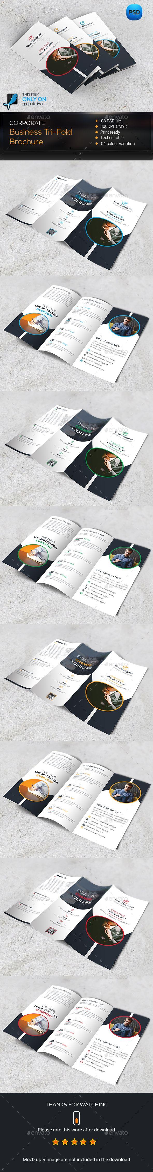 Trifold Brochure Template PSD #design Download: http://graphicriver.net/item/trifold-brochure/14350209?ref=ksioks