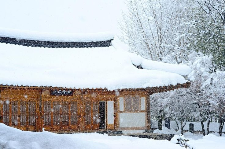 A heavy snow falls on a Buddhist temple building in Samcheok Gangwondo South Korea. . . . .  #natgeotravel #BBCTravel #tlpicks #lonelyplanet #canadiantraveller #cntraveler #ig_korea #Korea #travel #tour #tourism #urbannature #cntraveler #asianarchitecture #asianart #thedecisivesketch #buddhism #temple #corée #coréedusud #vacances #한국여행 #강원도 #삼척 #winter #snow #hiver #neige