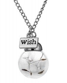 Dandelion Wish Necklace - price includes FREE postage within South Africa