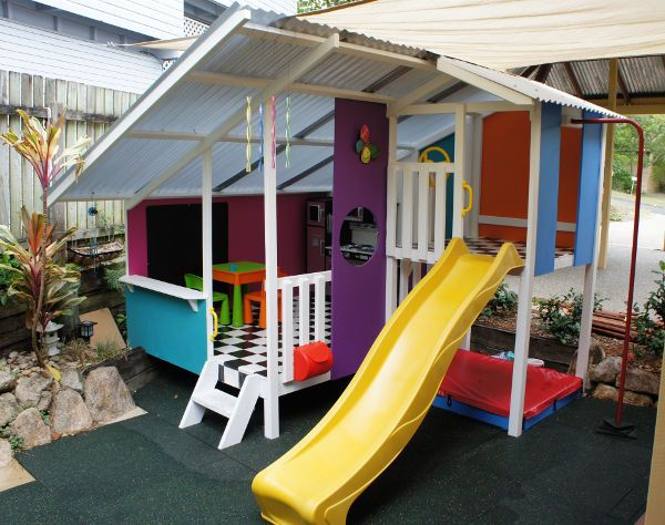 Outdoor play for kids reaches new heights with My Cubby #Backyard, #CubbyHouses, #OutdoorPlay, #SponsoredPosts