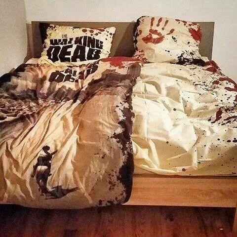 Walking dead bedset.... i need dis