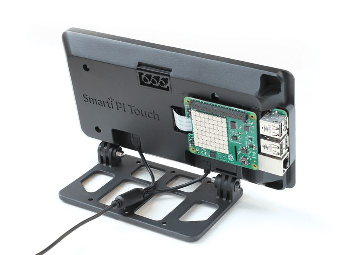 SmartiPi Touch – θηκη για official Raspberry Pi Touch Screen