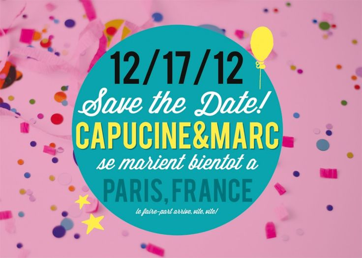 DIY - Le save the date de Pugly Pixel | Blog mariage, Mariage original, pacs, déco