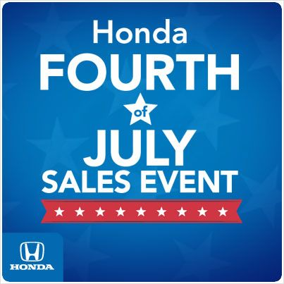 4th of july honda sale 2015