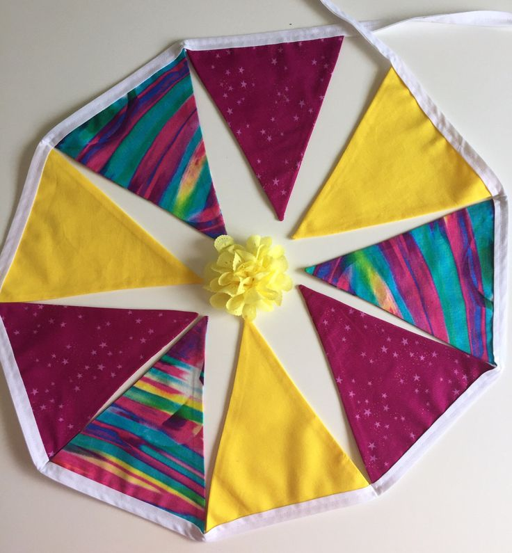 A personal favourite from my Etsy shop https://www.etsy.com/au/listing/478500430/girls-bunting-present-gift-home-kids
