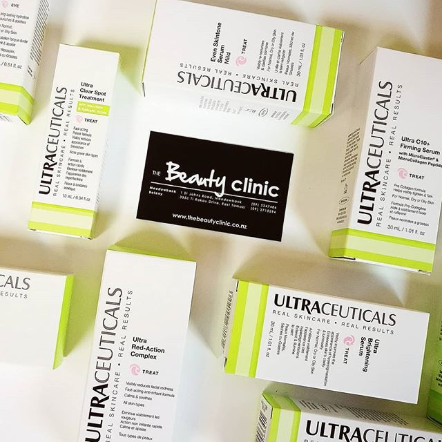 Proud Stockists of #ultraceauticals.  Providing our clients with Real Visible Results. . . . .  #thebeautyclinic #RVR90  #skin #skincare #beauty  #beautytherapy #beautytherapist #skintherapist #proudstockist #advancedskincare #skinhealth #skintips #clinic #womeninbusiness #loveyourskin #nzbloggers #nzblog #auckland #botany #meadowbank #newzealand #nz