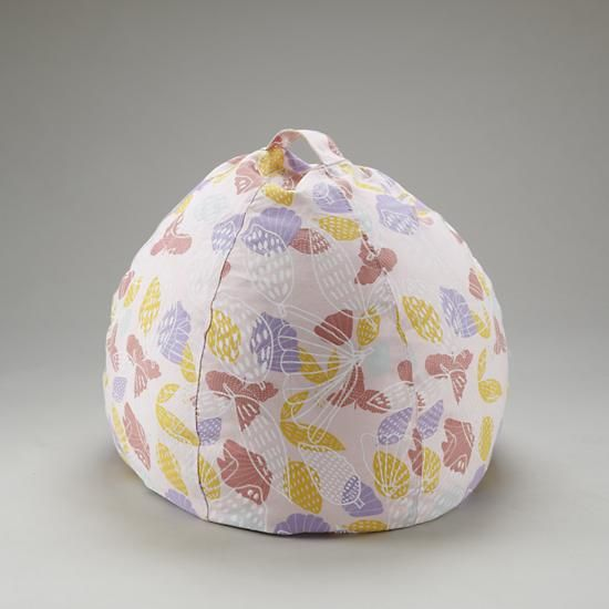 """30"""" Strawberry Floral Bean Bag    The Land of Nod"""