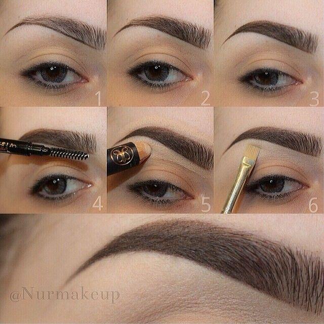 how to make your eyebrows perfect