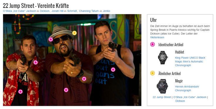 Die Zeit immer im Auge zu behalten ist auch beim Spring Break in Puerto Mexico wichtig für Captain Dickson (alias Ice Cube). Der Leiter der verdeckten Ermittlung hat sich zu diesem Zweck für eine Hublot King Power Unico Black Magic Automatik-Uhr entschieden, die nicht nur den Preis sondern auch den Style seines Outfits deutlich aufwertet.