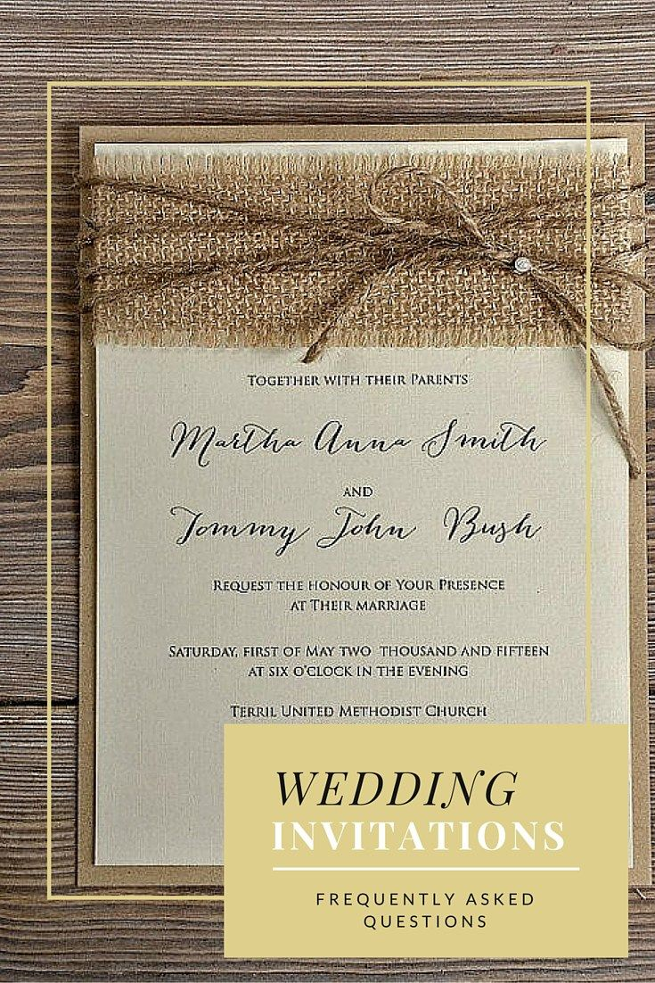 Wording Second Wedding Invitations - Examples & Samples