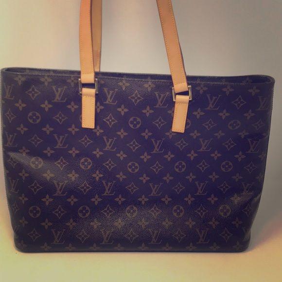 a24eec26be Louis Vuitton Luco Tote bag Shoulder Bag Size :W40 x H30 x D10cm(W15 ...