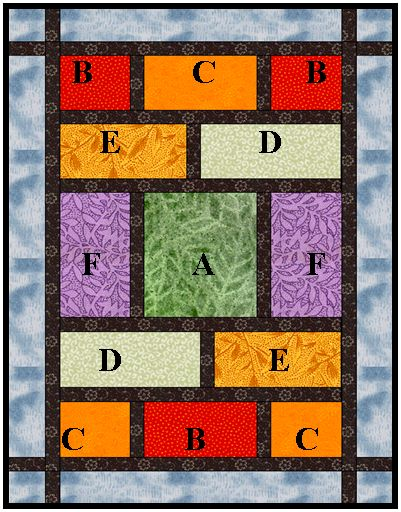 A Very Quick Quilt For Fabulous Fat Quarters This Would Make It Easy To Showcase