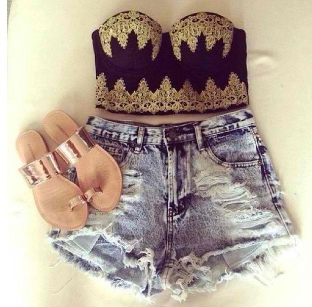 Music Festival Outfit! ❤