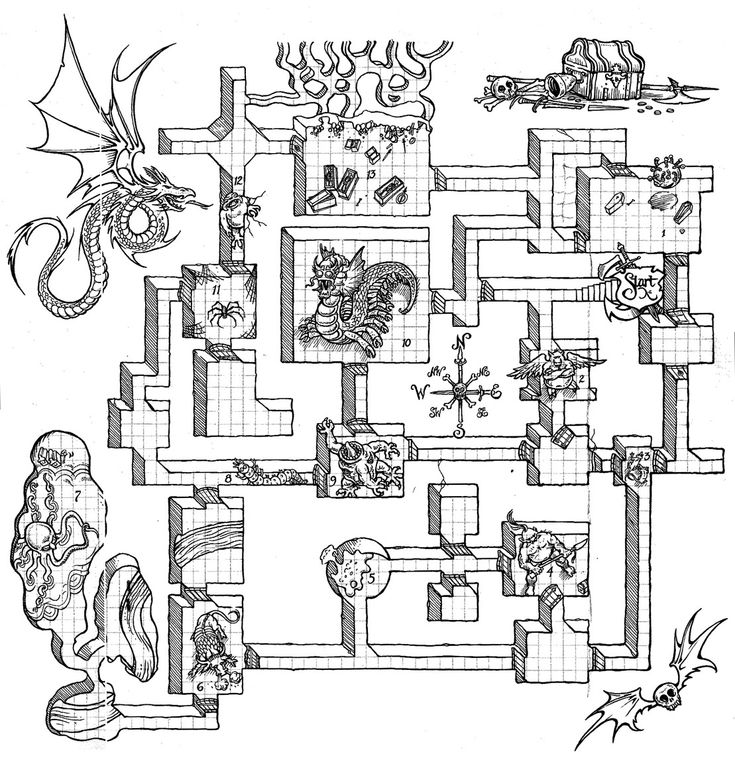 1730 best Dungeon Crawls images on Pinterest