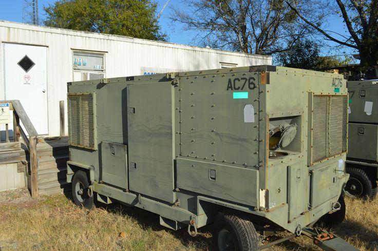EAS Inc. 20 ton Mobile Air Conditioner NSN: 4120-01-368-8257 P/N: 62001-100