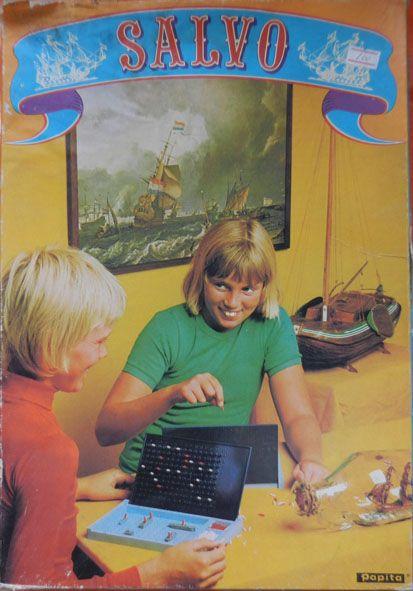 Salvo - vintage game