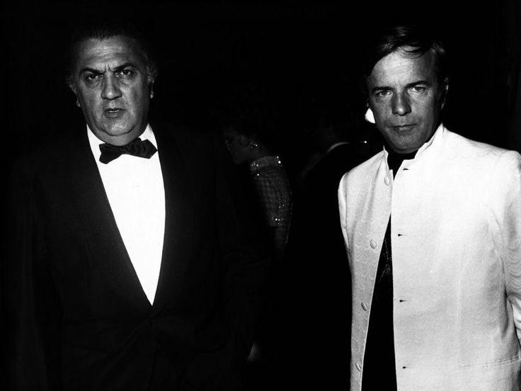 Federico Fellini and Franco Zeffirelli