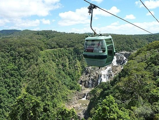 Kuranda Skyrail, Cairns, Australia - Explore the World with Travel Nerd Nici, one Country at a Time. http://TravelNerdNici.com