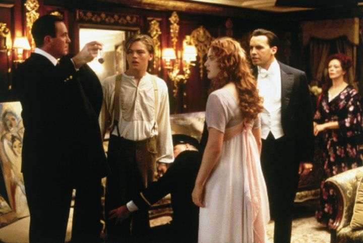 Jack, Rose, Caledon et Ruth