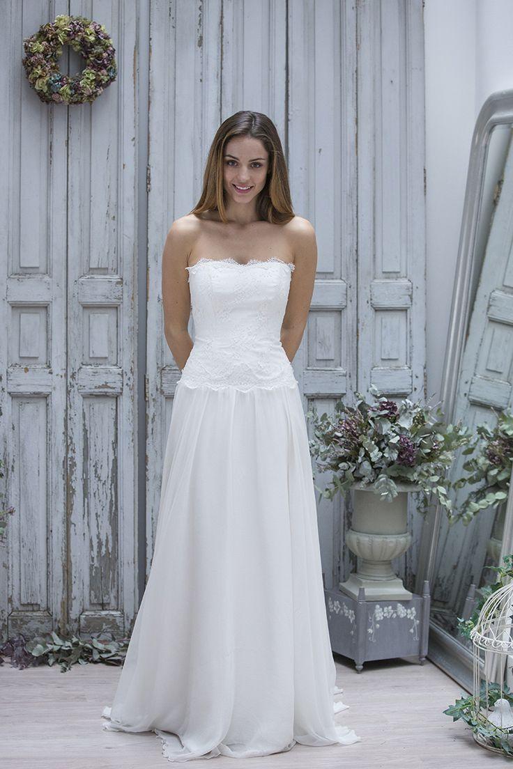20 best robe de mariée images on Pinterest | Short wedding gowns ...