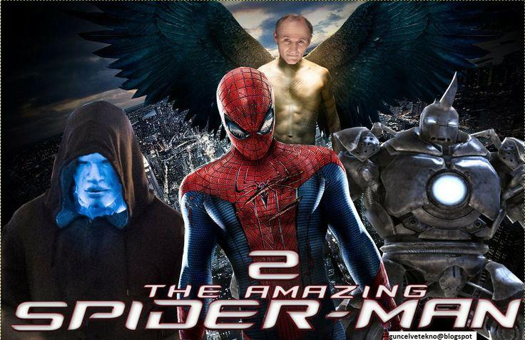 güncel ve farklı teknoloji: inanılmaz örümcek adam 2