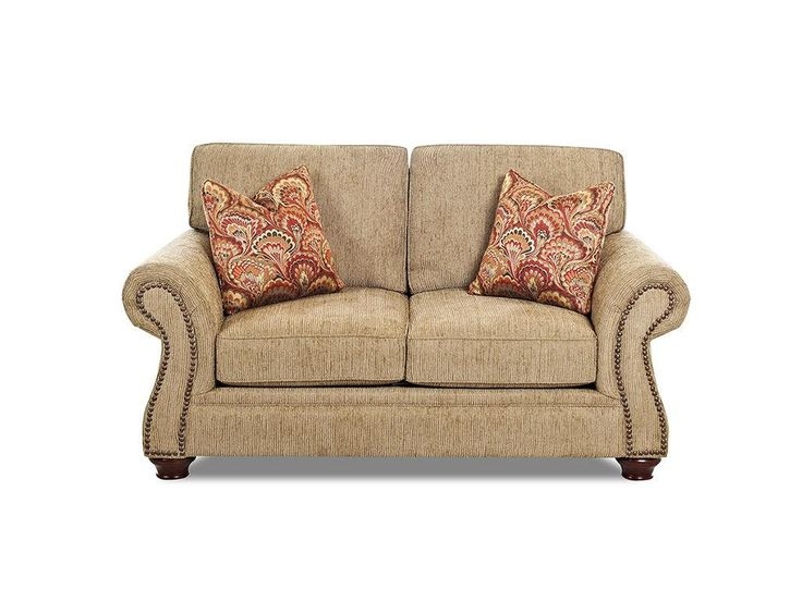 Klaussner Living Room Stuart Loveseat K39610 LS