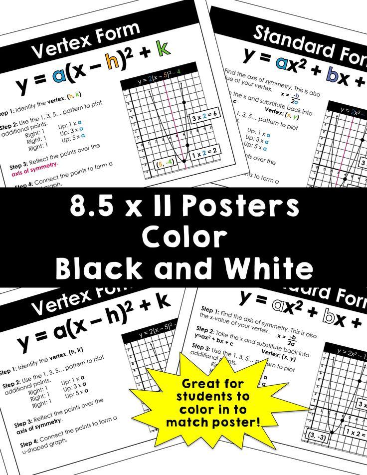 54 best Algebra 2 images on Pinterest | Algebra 2, Unterricht ideen ...