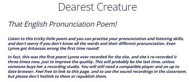 dearest creature in creation pdf