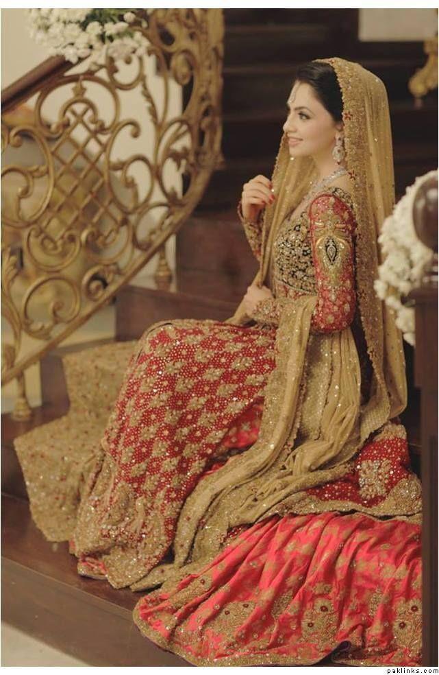 Bridal dress colors in pakistan best