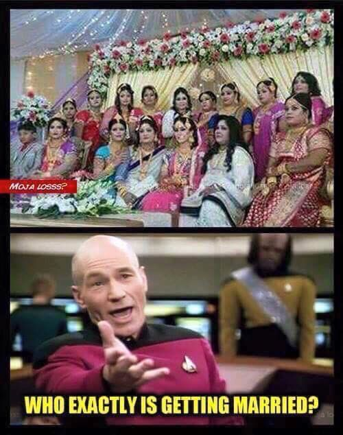 Confusion at a Desi wedding!