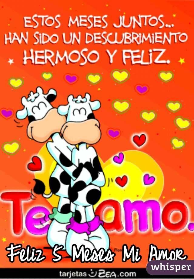 Felices 5 Meses Mi Amor Descargar Amor Pinterest Love