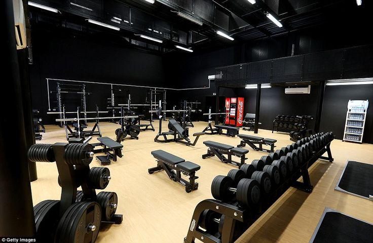 Olympic athlete training center london uk