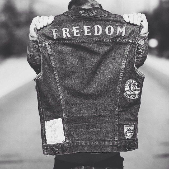 ironandresingarage:  Be free. @tommytatham 's vest as shot via @krantzm