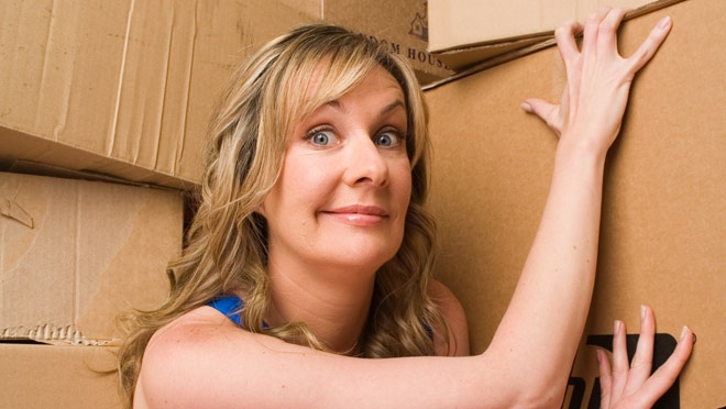 Bringing her hit show to Brisbane for the first time, one of Australia's best known comedians is giving away her possessions onstage.   Corinne Grant: Have My Stuff, The Courier-Mail Spiegeltent, 24 September, 2012.