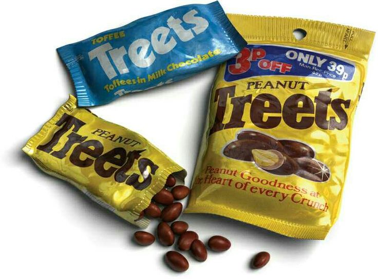Peanut Treets - used to love these and an early pre-cursor to M&M's