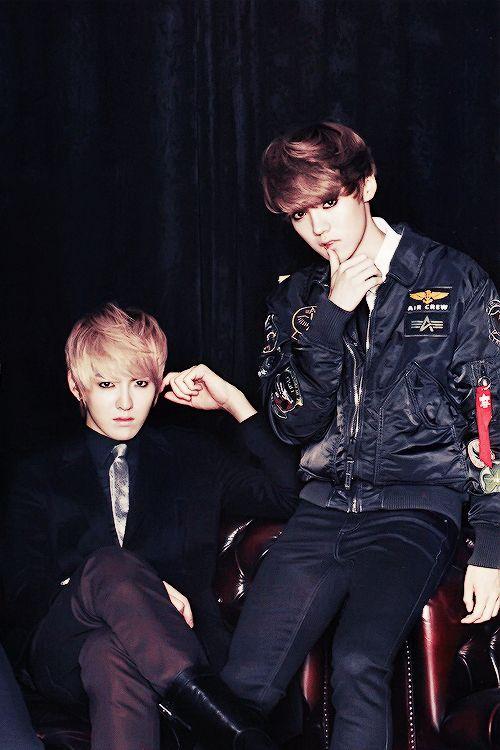 EXO Luhan + Kris / Wu Yifan
